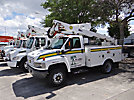 Altec AT37G, Articulating & Telescopic Bucket Truck, mounted behind cab on, 2003 Chevrolet C5500 Service Truck
