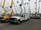 Altec AT37G, Articulating & Telescopic Bucket Truck, mounted behind cab on, 2003 Ford F550 Service Truck