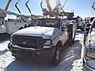 Altec AT37G, Articulating & Telescopic Bucket Truck, mounted behind cab on, 2004 Ford F550 4x4 Extended-Cab Service Truck
