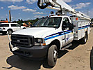 Altec AT37G, Articulating & Telescopic Bucket Truck, mounted behind cab on, 2004 Ford F550 Utility Truck