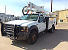 Altec AT37G, Articulating & Telescopic Bucket Truck, mounted behind cab on, 2005 Ford F550 4x4 Service Truck