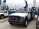 Altec AT37G, Articulating & Telescopic Bucket Truck, mounted behind cab on, 2005 Ford F550 Service Truck