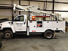 Altec AT37G, Articulating & Telescopic Bucket Truck, mounted behind cab on, 2006 GMC C5500 4x4 Utility Truck