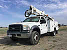 Altec AT37G, Articulating & Telescopic Bucket Truck, mounted behind cab on, 2007 Ford F550 Service Truck