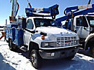 Altec AT37G, Articulating & Telescopic Bucket Truck, mounted behind cab on, 2007 GMC C5500 Utility Truck