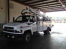 Altec AT37G, Articulating & Telescopic Bucket Truck, mounted behind cab on, 2008 Chevrolet C5500 Service Truck