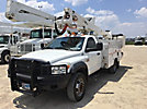 Altec AT37G, Articulating & Telescopic Bucket Truck, mounted behind cab on, 2010 Dodge W5500 4x4 Service Truck