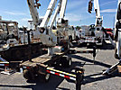 Altec AT37G, Articulating & Telescopic Bucket Truck, mounted on, 2003 SkyLift Mini-A39 Rubber Tired Back Yard Carrier