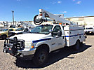 Altec AT37G, Articulating & Telescopic Bucket Truck mounted behind cab on 2003 Ford F550 4x4 Service Truck