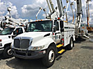 Altec AT37G, Articulating & Telescopic Bucket Truck mounted behind cab on 2004 International 4300 Utility Truck