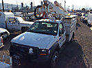 Altec AT37G, Articulating & Telescopic Bucket Truck mounted behind cab on 2005 Ford F550 4x4 Service Truck