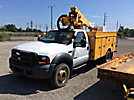 Altec AT37G, Articulating & Telescopic Bucket Truck mounted behind cab on 2006 Ford F550 Service Truck