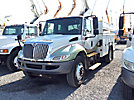 Altec AT37G, Articulating & Telescopic Bucket Truck mounted behind cab on 2008 International 4300 Utility Truck