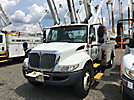 Altec AT37G, Articulating & Telescopic Bucket Truck mounted behind cab on 2009 International 4300 Utility Truck