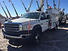 Altec AT37G, Articulating & Telescopic Bucket Truck mounted behind cab on 2009 Sterling Bullet, 4x4 Service Truck