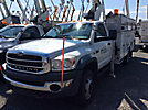 Altec AT37G, Articulating & Telescopic Bucket Truck mounted behind cab on 2009 Sterling Bullet 4x4 Service Truck