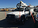 Altec AT37G, Articulating & Telescopic Bucket Truck mounted behind cab on 2010 Dodge W5500 4x4 Service Truck