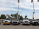 Altec AT37G, Articulating & Telescopic Bucket Truck mounted behind cab on 2010 Ford F550 Service Truck