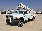 Altec AT37G, Articulating & Telescopic Bucket Truck mounted behind cab on 2011 Dodge D5500 Service Truck