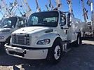 Altec AT37G, Articulating & Telescopic Bucket Truck mounted behind cab on 2012 Freightliner M2 Utility Truck