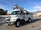 Altec AT37G, Articulating & Telescopic Non-Insulated Bucket Truck, mounted behind cab on, 2010 International 4300 Utility Truck