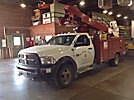 Altec AT40-M, Articulating & Telescopic Material Handling Bucket Truck mounted behind cab on 2012 Dodge W5500 4x4 Service Truck