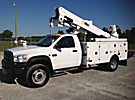 Altec AT40-MH, Articulating & Telescopic Material Handling Bucket Truck, mounted behind cab on, 2009 Dodge W5500 4x4 Service Truck
