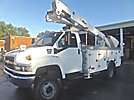Altec AT40-MH, Articulating & Telescopic Material Handling Bucket Truck mounted behind cab on 2008 Chevrolet C5500 4x4 Service Truck