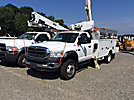 Altec AT40-MH, Articulating & Telescopic Material Handling Bucket Truck mounted behind cab on 2008 Sterling Bullet 4x4 Service Truck