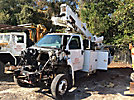 Altec AT40-MH, Articulating & Telescopic Material Handling Bucket Truck mounted behind cab on 2009 Chevrolet C5500 Service Truck