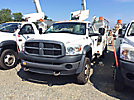 Altec AT40-MH, Articulating & Telescopic Material Handling Bucket Truck mounted behind cab on 2010 Dodge D5500 Service Truck