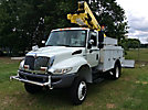 Altec AT40-P, Articulating & Telescopic Bucket Truck mounted behind cab on 2011 International 4300-M7 4x4 Utility Truck