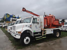 Altec CH7, Pressure Digger rear mounted on 1998 International 4800 4x4 Cab & Chassis