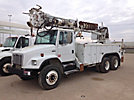 Altec D2050-BR, Digger Derrick, rear mounted on, 2004 Freightliner FL80 T/A Utility Truck