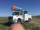 Altec D2050-TR, Digger Derrick, rear mounted on, 2006 Freightliner M2 112 T/A Utility Truck, PTO hours 146