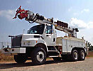 Altec D2050-TR, Digger Derrick, rear mounted on, 2007 Freightliner M2 106 T/A Utility Truck