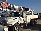 Altec D2055-TR, Digger Derrick, rear mounted on, 2004 International 4400 T/A Utility Truck
