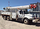 Altec D2055-TR, Digger Derrick rear mounted on 2004 International 4400 T/A Utility Truck