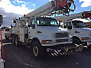 Altec D3060-TR, Digger Derrick, rear mounted on, 2001 Sterling M8500 T/A Utility Truck
