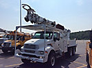 Altec D3060-TR, Digger Derrick, rear mounted on, 2002 Sterling M8500 T/A Flatbed/Utility Truck