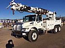 Altec D3060-TR, Digger Derrick, rear mounted on, 2007 International 7400 T/A Utility Truck