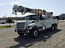 Altec D3060-TR, Digger Derrick, rear mounted on 2009 International 7400 T/A Utility Truck,