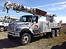Altec D3060-TR, Digger Derrick corner mounted on 2004 International 7400 6x6 Utility Truck