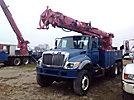 Altec D3060-TR, Digger Derrick rear mounted on 2004 International 7400 6x6 Utility Truck