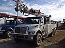 Altec D3060-TR, Digger Derrick rear mounted on 2007 International 7400 T/A Utility Truck
