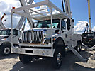 Altec D3060B-TR, Digger Derrick rear mounted on 2014 International 7500 6x6 Utility Truck