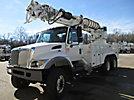 Altec D4050A-TR, Digger Derrick, rear mounted on, 2007 International 7400 6x6 Utility Truck