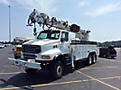 Altec D4065-TR, Digger Derrick, rear mounted on, 2002 Sterling LT8500 6x6 Utility Truck