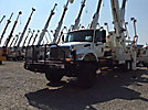 Altec D4065-TR, Digger Derrick, rear mounted on, 2003 International 7500 6x6 Utility Truck