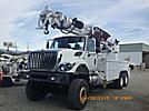 Altec D4065A-TR, Digger Derrick rear mounted on 2009 International 7400 6x6 Utility Truck